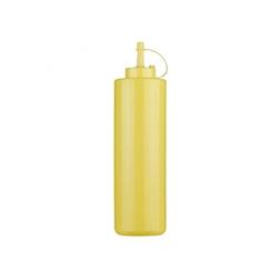 Squeeze bottle con tappo in PE giallo cl 36