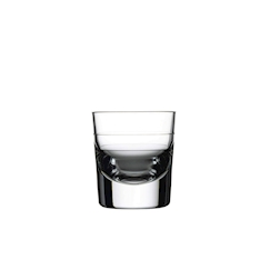 Bicchiere shot Grande 2 tacche in vetro cl 18,5