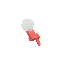 Beccuccio versatore con tappo in rosso