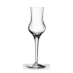 Calici grappa Michelangelo Bormioli Luigi in vetro cl 9,5