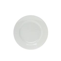 Piatto piano in porcellana bianco cm 23,5