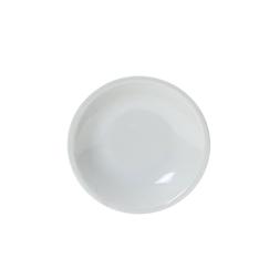 Piatto fondo Roma Saturnia in porcellana bianca cm 20,5