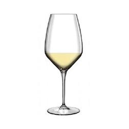 Calice vino Riesling Tocai Atelier Bormioli Luigi in vetro con tacca cl 44