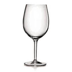 Calice vino Bordeaux Rubino Bormioli Luigi in vetro con tacca cl 48