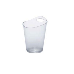 Secchiello ghiaccio Salsa in acrilico trasparente