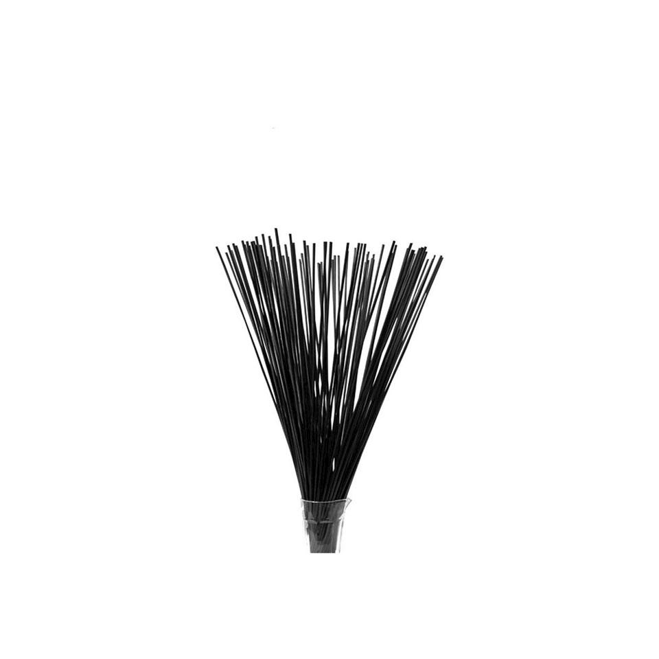 Cannucce Drinking Straws in plastica colore nero cm 70