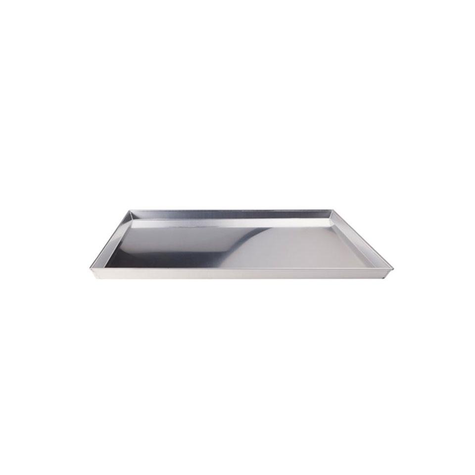 Teglia pizza rettangolare in alluminio