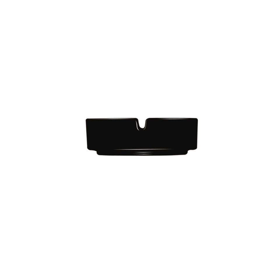 Posacenere impilabile Arcoroc in vetro nero
