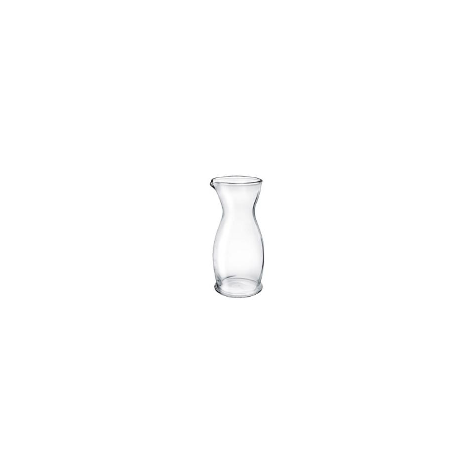 Caraffa vino Indro Borgonovo in vetro lt 0,25