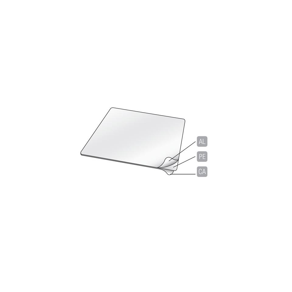 Coperchio accoppiato cartone alluminio per contenitore lt 0,47