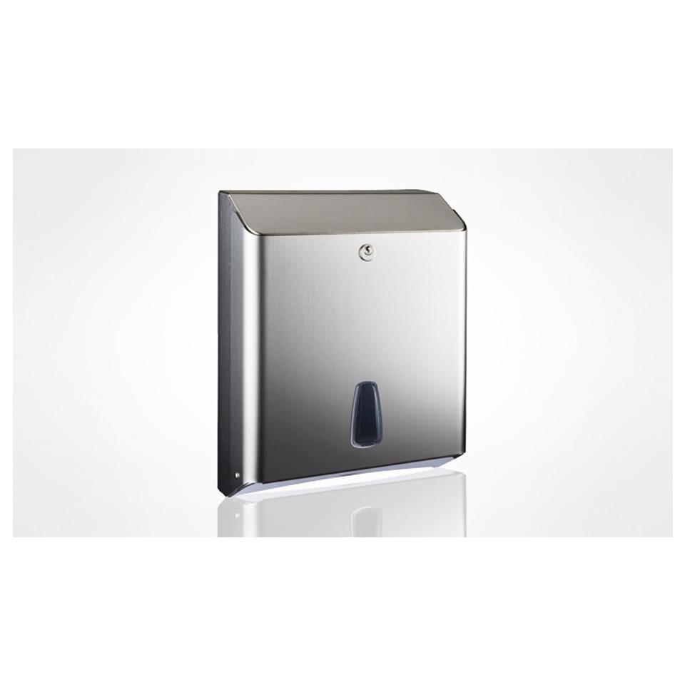Dispenser asciugamani carta acciaio inox 32,5x12x25,5cm