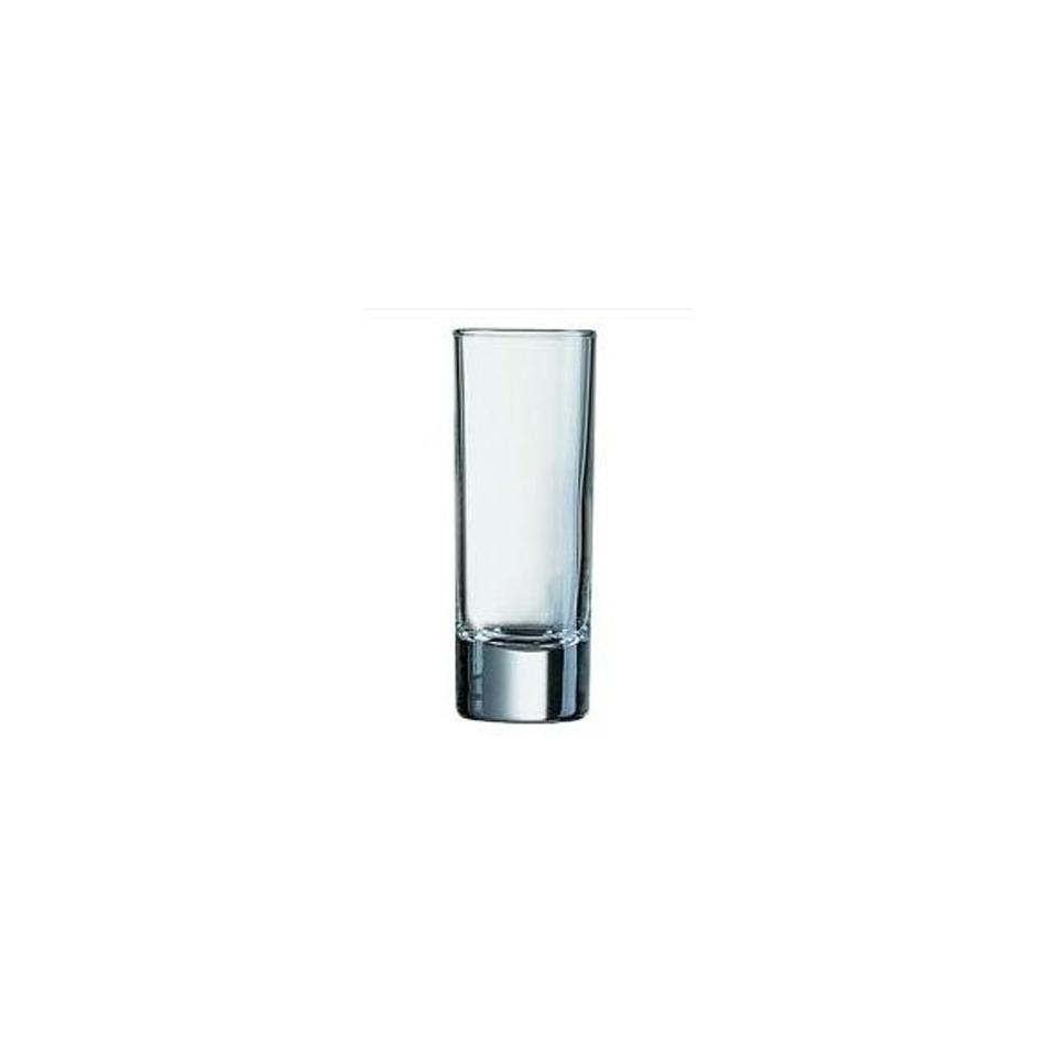 Bicchiere Islanda Arcoroc shot in vetro cl 6