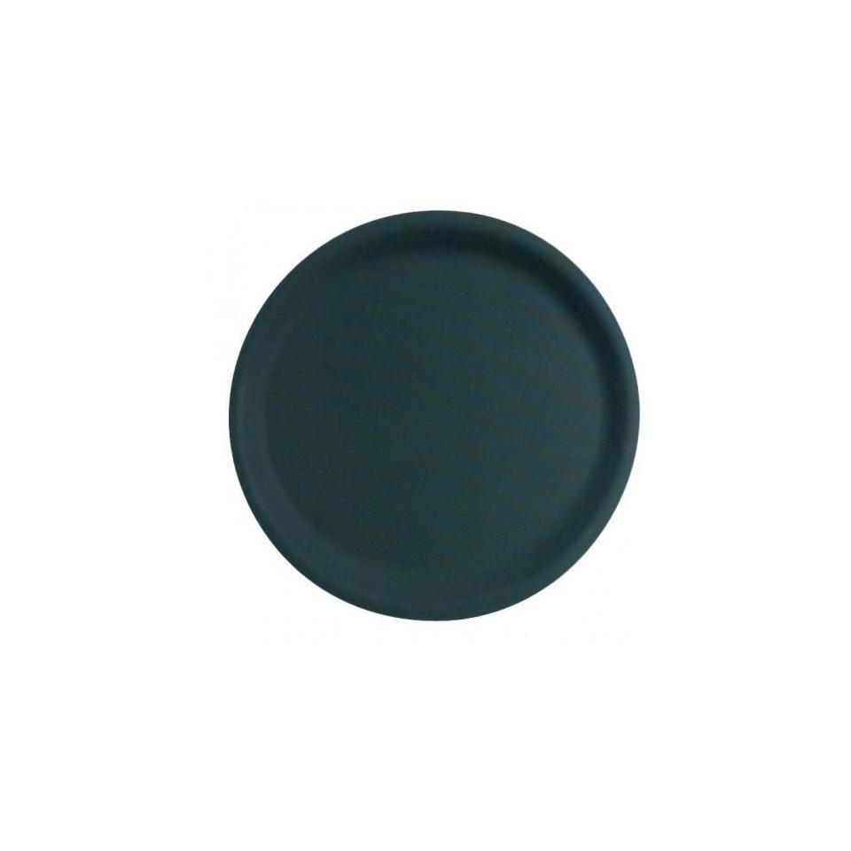 Vassoio PP 27,6cm antiscivolo rotondo nero