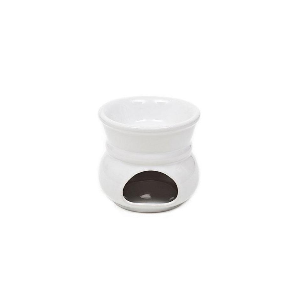 Fornellino per bagna cauda bianco cm 11
