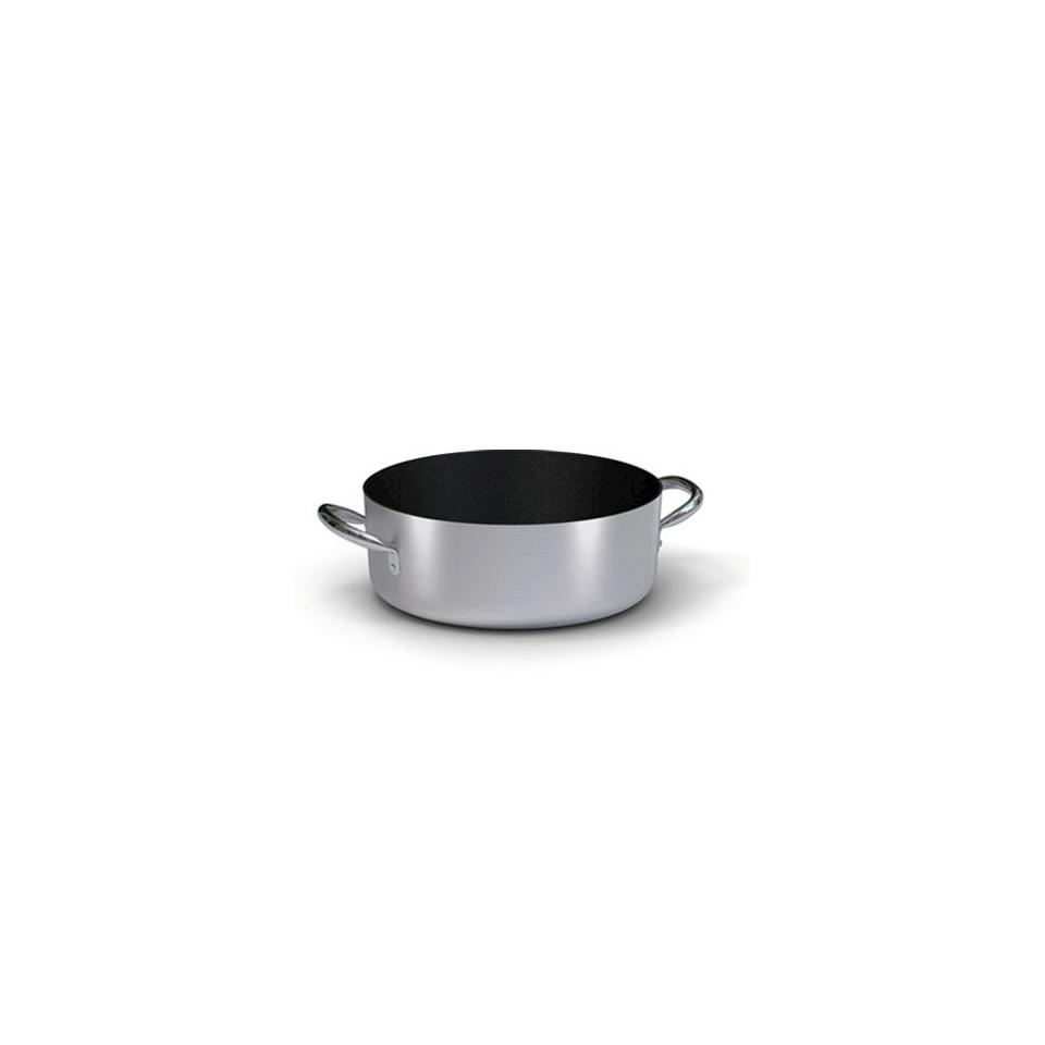 Casseruola bassa Ballarini, antiaderente in alluminio con 2 manici, cm 20