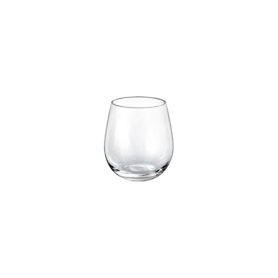 Bicchiere Stemless Ducale Borgonovo in vetro cl 52