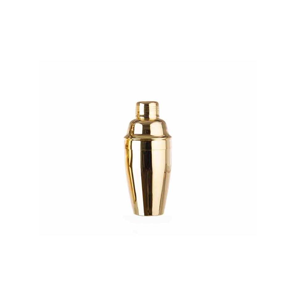 Cobbler shaker tipo americano oro cl 50