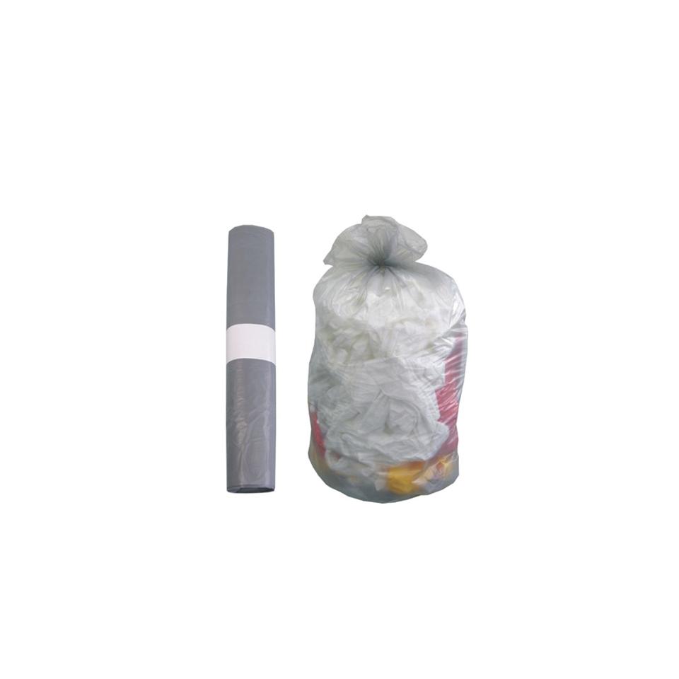 Sacco immondizia antigoccia neutro cm 75x110