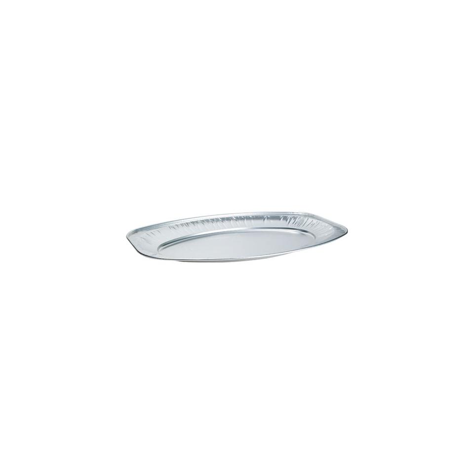 Vassoio ovale da servizio monouso Duni in alluminio