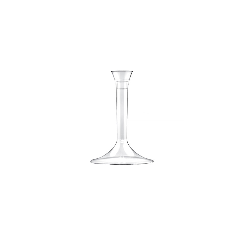 Base bicchieri Gold Plast trasparente cm 9,3