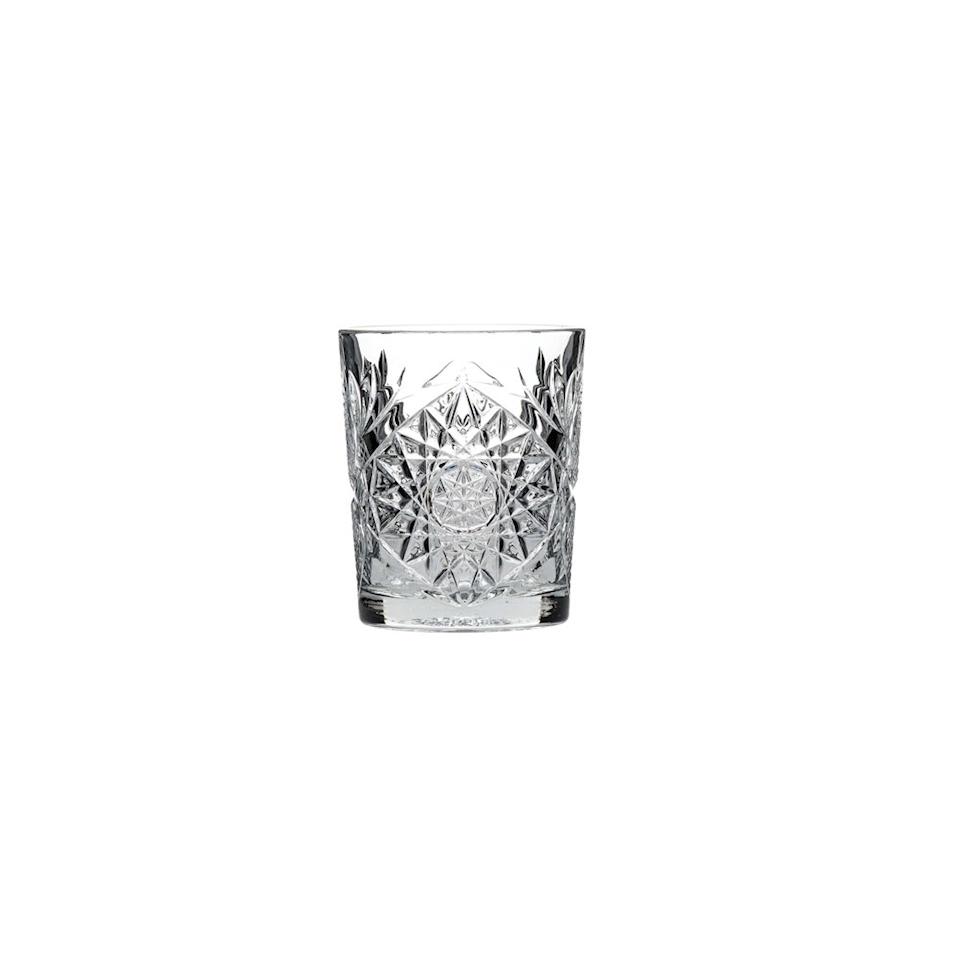 Bicchiere dof Hobstar Libbey in vetro lavorato 35,5 cl