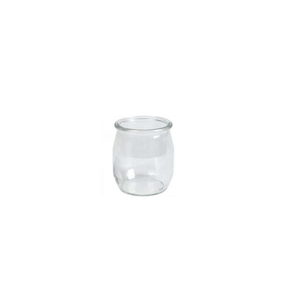 Vasetto per yogurt e dolci 100% Chef in vetro 40 cl