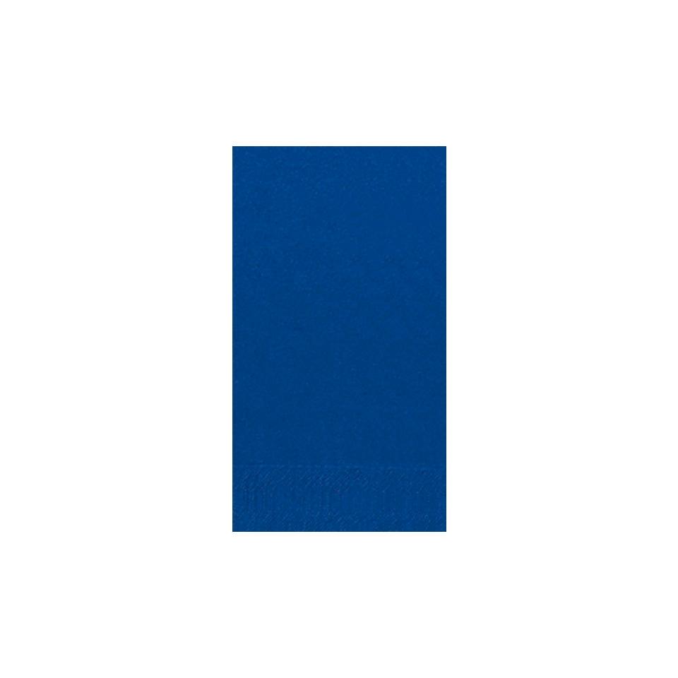 Tovaglioli Duni in cellulosa due veli cm 40x40 piegati 1/8 blu scuro