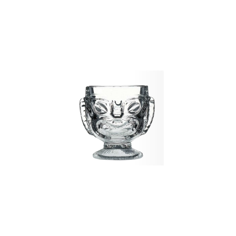 Tiki cup The Mask in vetro trasparente cl 41,4