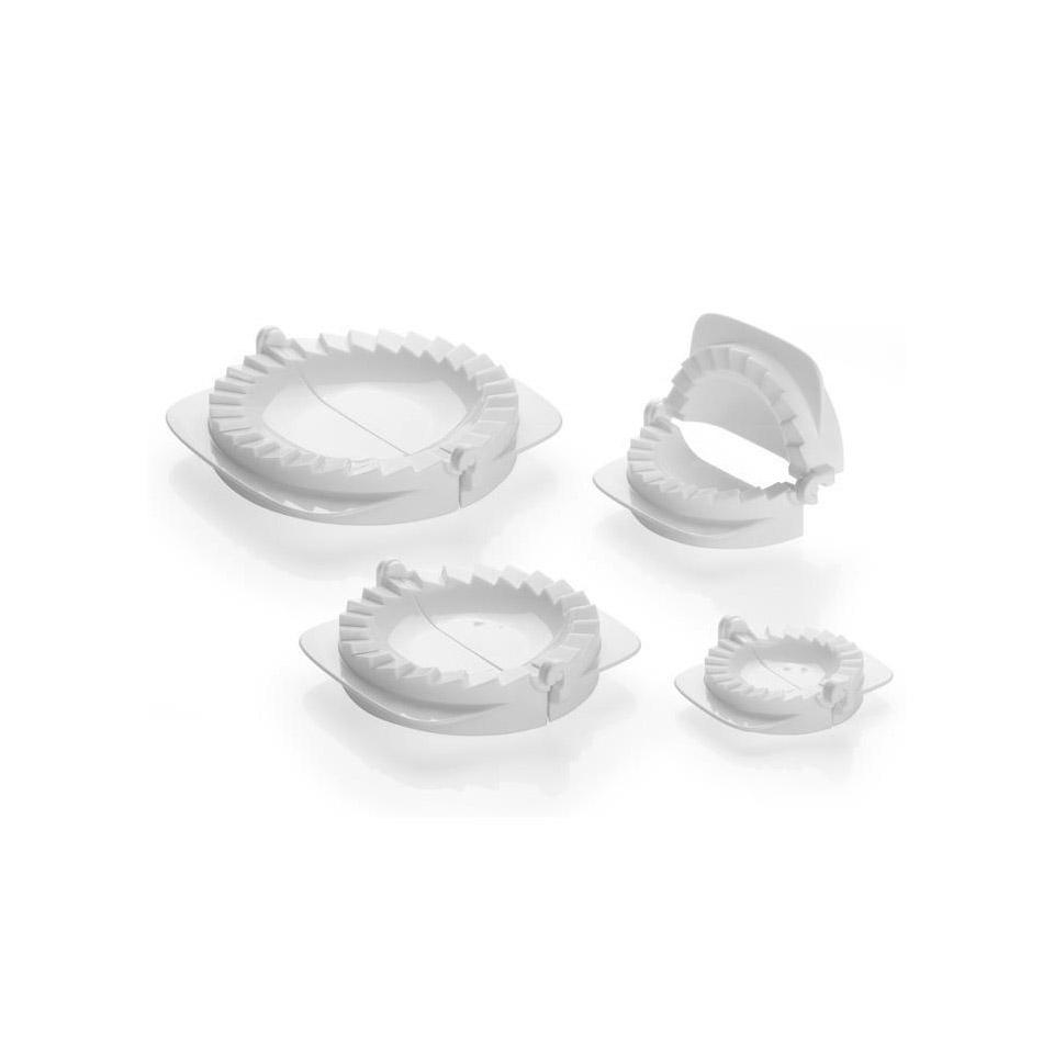 Forma per ravioli plastica set di 4 pezzi