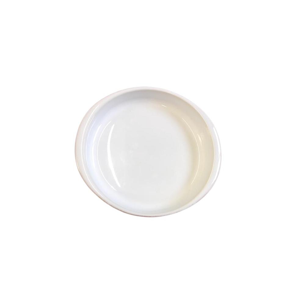 Coppetta Creme Brulèe Faria&Bento in porcellana bianca e marrone cm ...