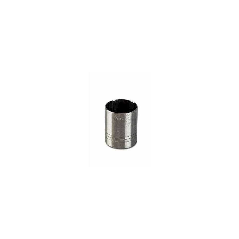 Jigger Thimble cilindrico in acciaio inox cl 3,5