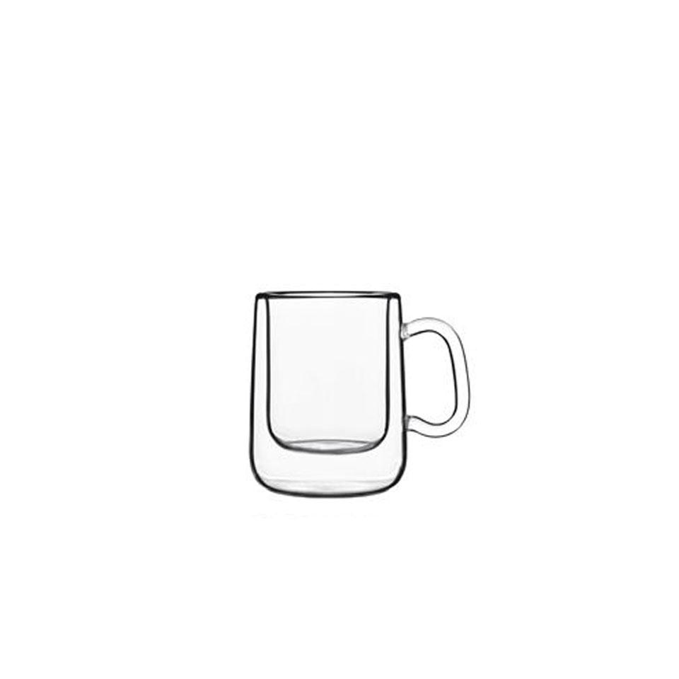 Tazza caffè termica Colombia Luigi Bormioli in vetro cl 10