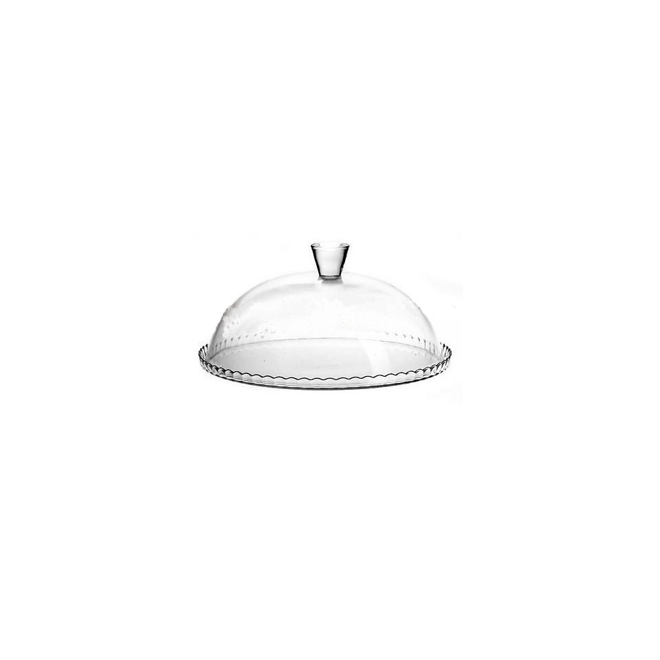 Piatto torta Pasabahce Patisserie in vetro con cupola cm 32