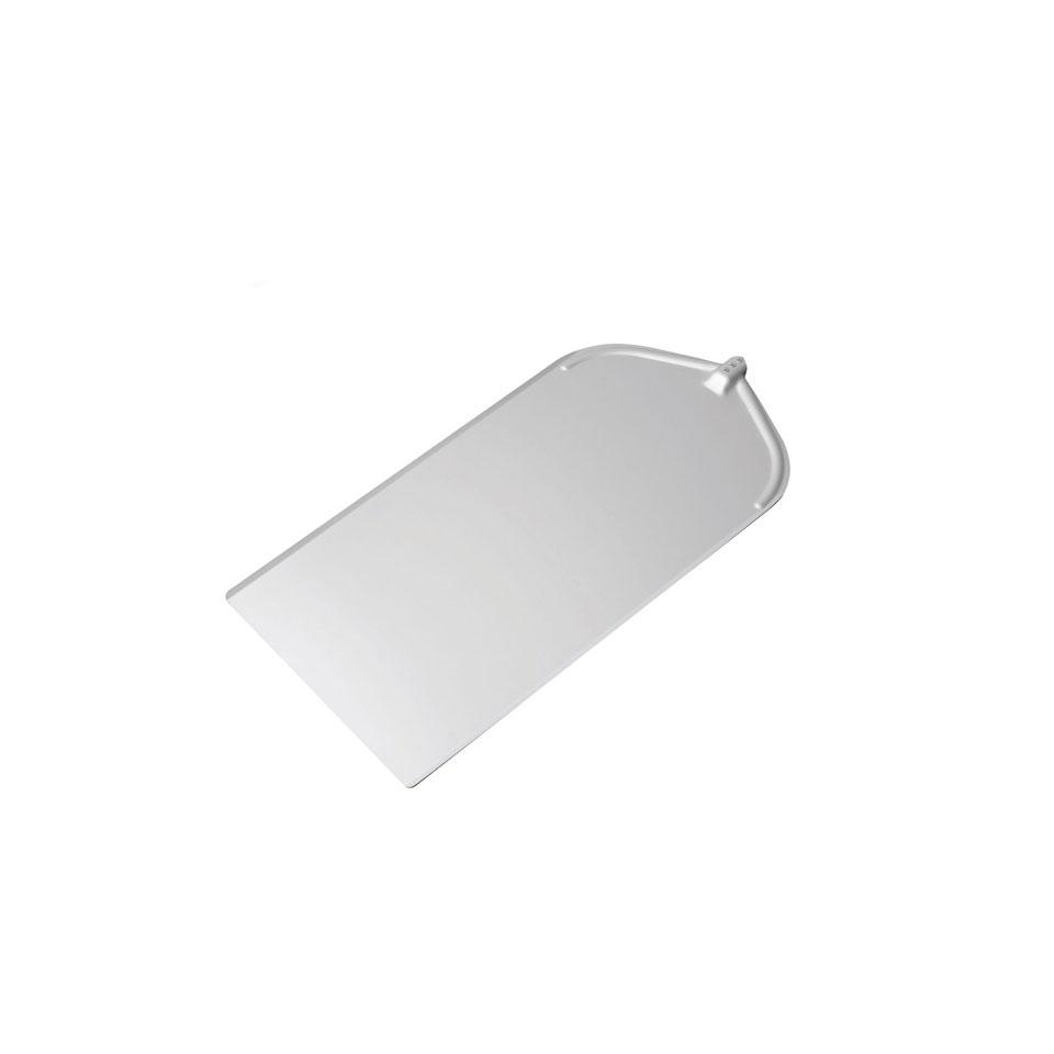 Pala per pizza rettangolare liscia in alluminio