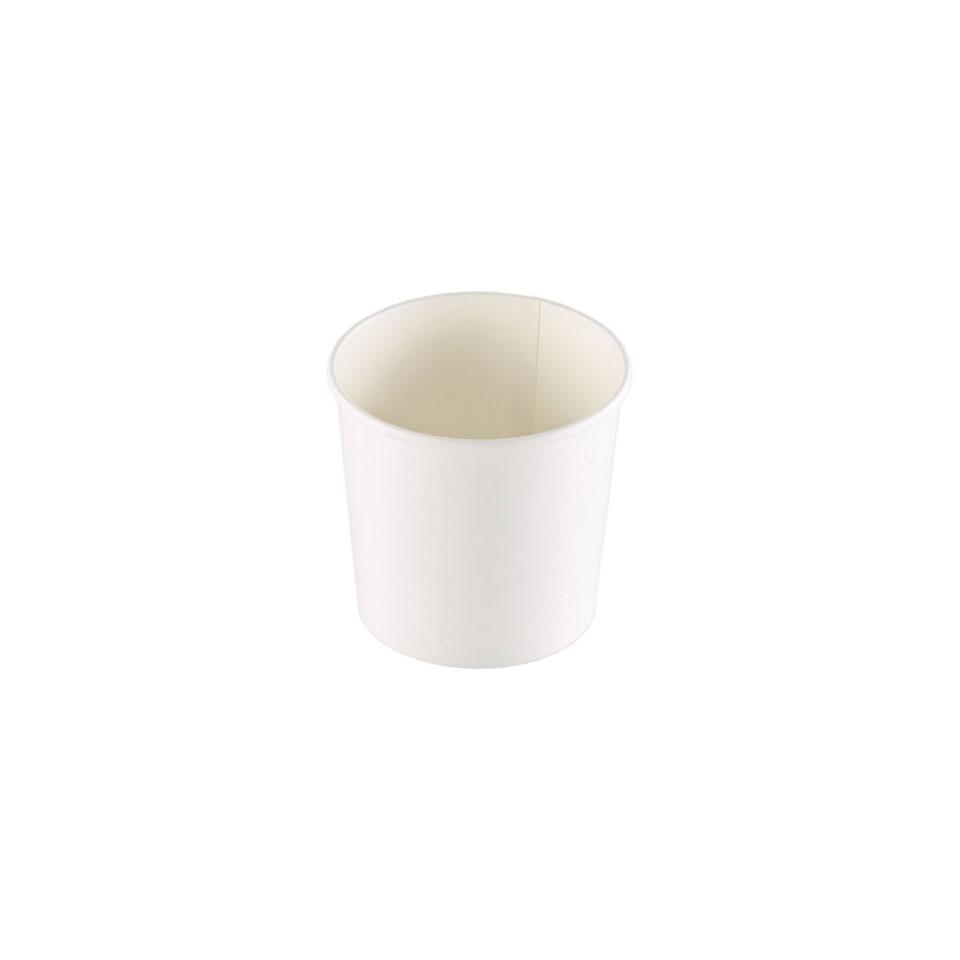 Coppette asporto monouso Soup Duni in cartone bianco
