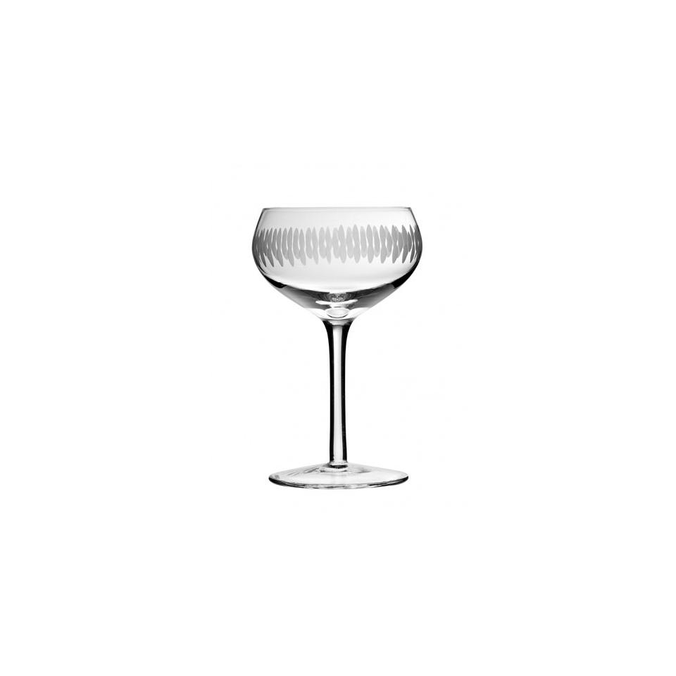 Coppa cocktail Retrò Urban Bar cesellato in vetro cesellato 22 cl