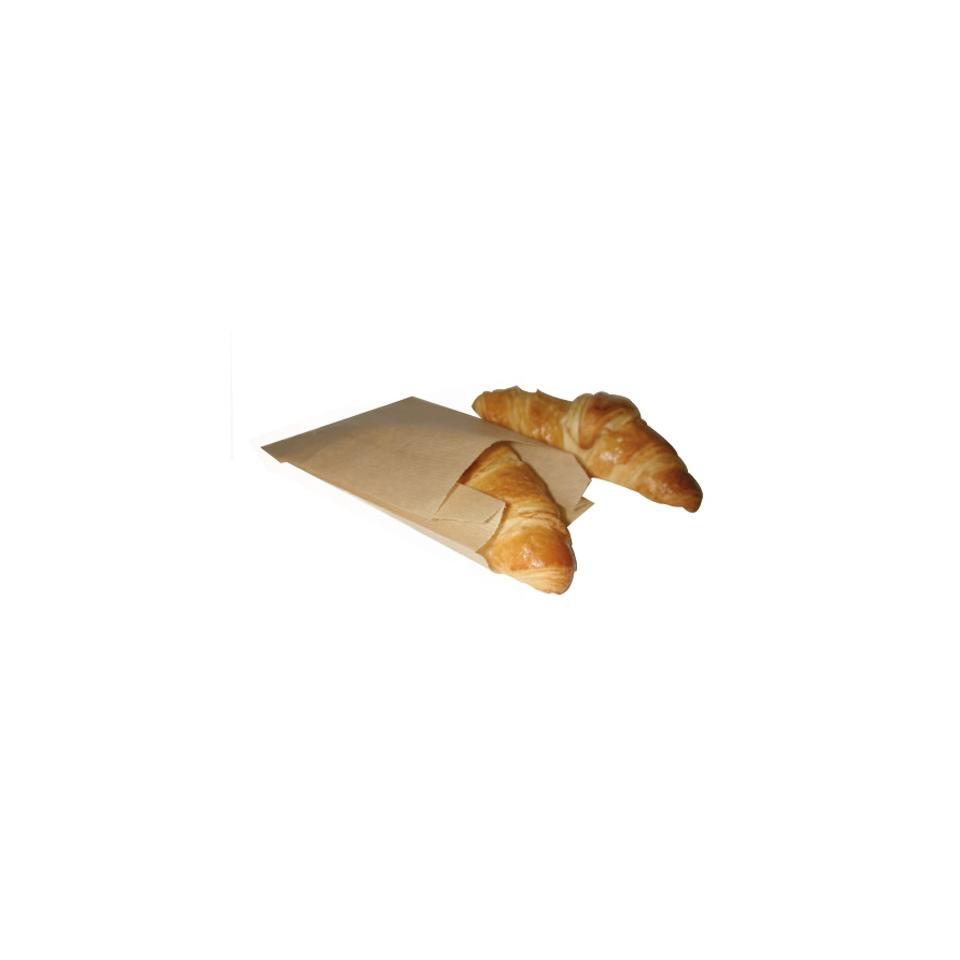 Sacchetti per alimenti in carta marrone cm 22 x 14
