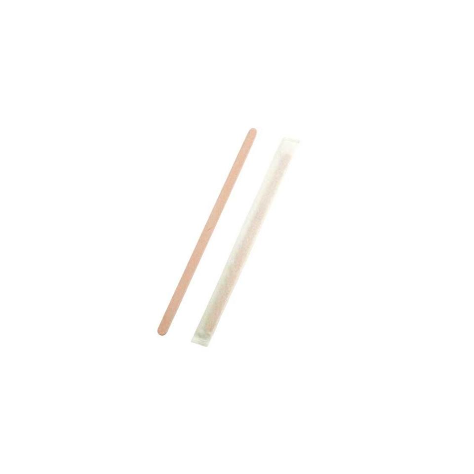 Palette cappuccino singolarmente imbustate in legno cm 14