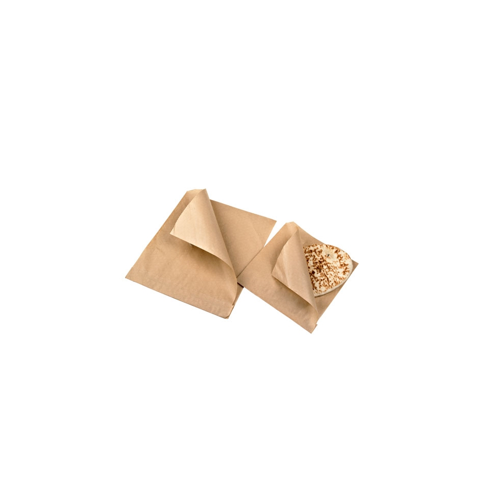Sacchetti per panini in carta marroni cm 11x11