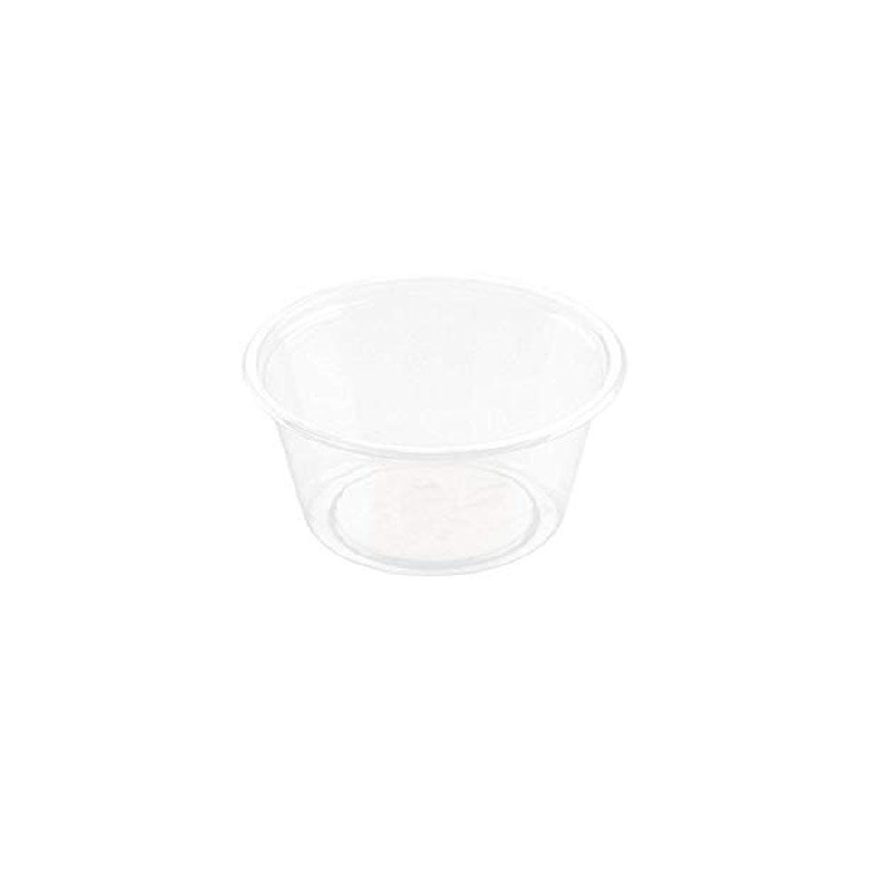 Coppetta monouso salsa Duni in pla trasparente cl 6