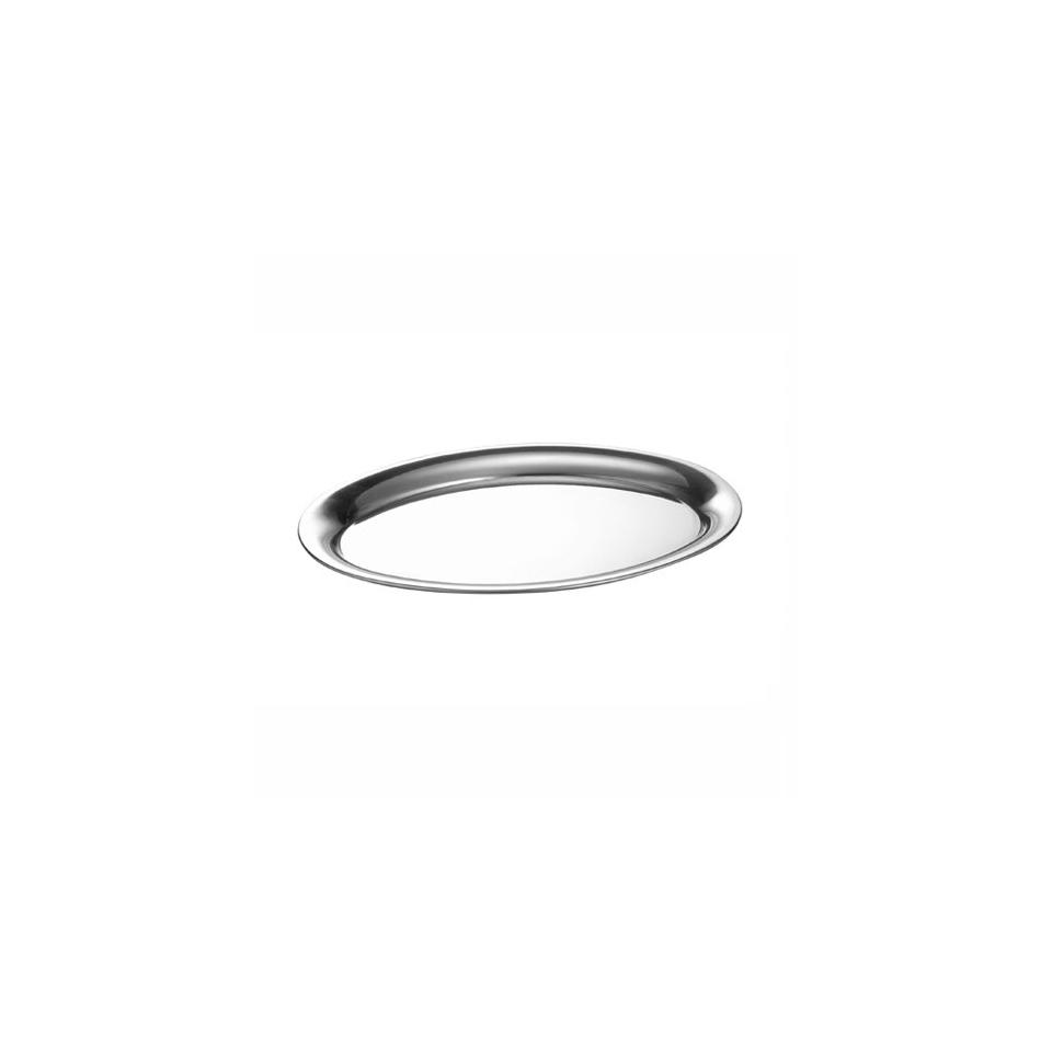 Vassoio ovale Espresso Motta in acciaio inox
