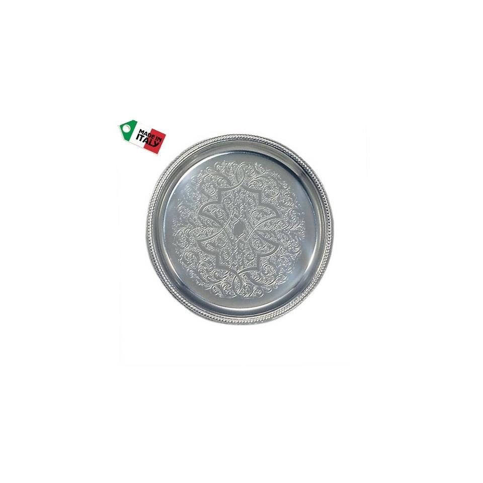 Sottobicchiere San Marco Motta tondo damascato 10 cm
