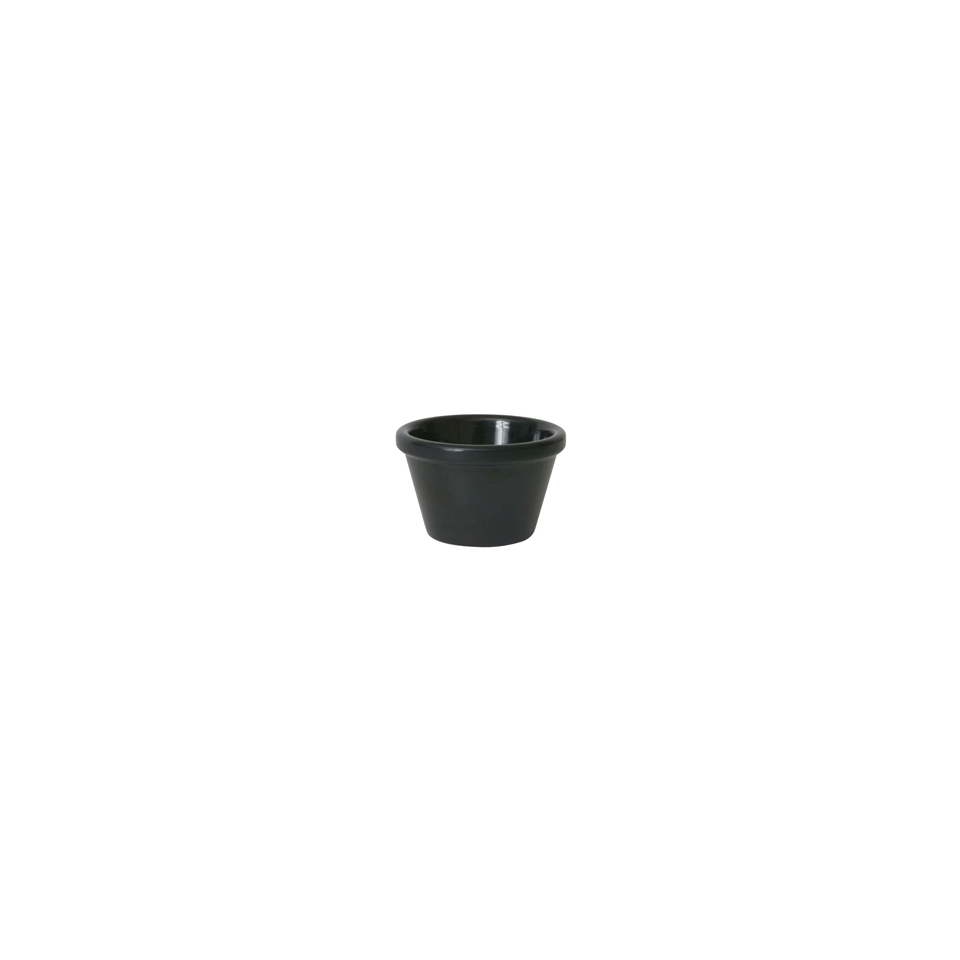 Coppetta Ramekin in melamina nera 7 cm