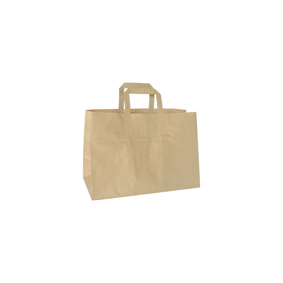 Borse Take-Away in carta marrone cm 35x17x24,5