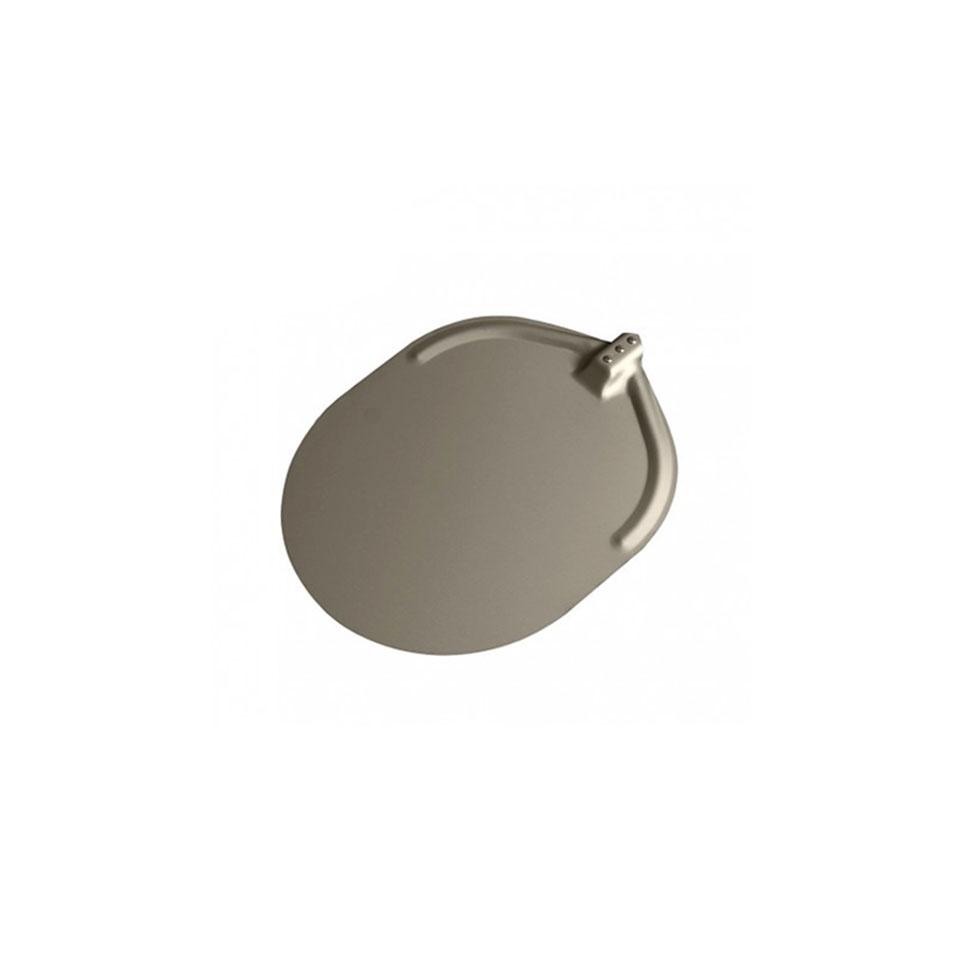 Pala per pizza ovale Stilcasa liscia in alluminio ossidato