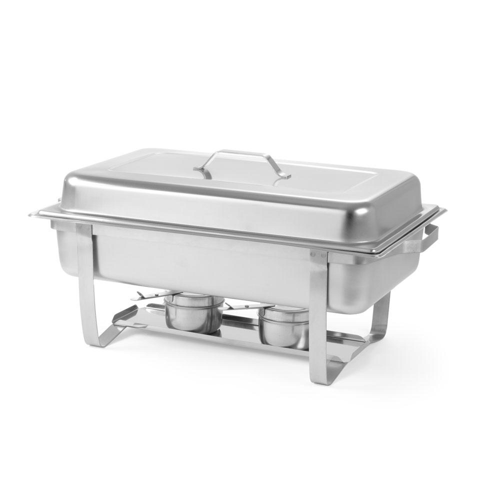 Scaldavivande Chafing Dish GN 1/1 Hendi in acciaio