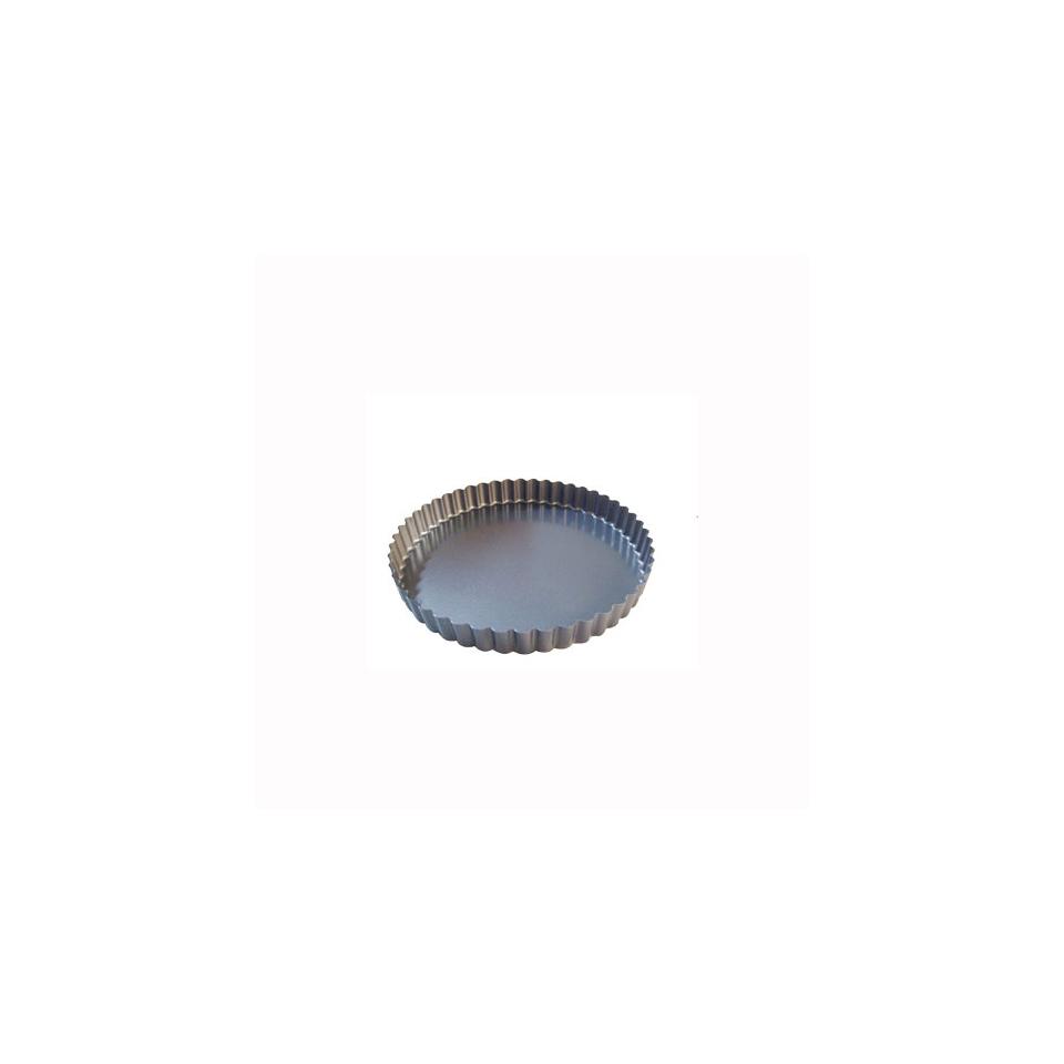 Tortiera per crostata De Buyer in alluminio