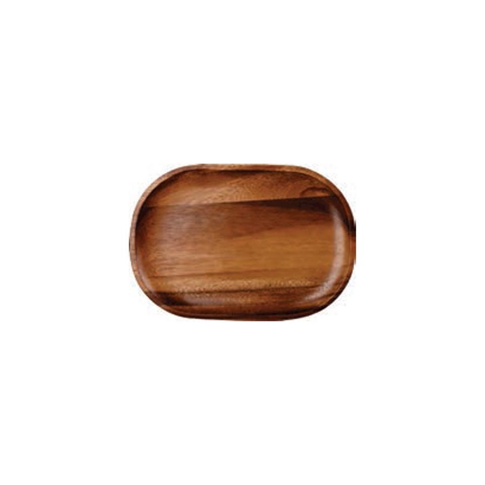 Vassoio Linea Moonstone Churchill rettangolare in legno acacia cm 29x20