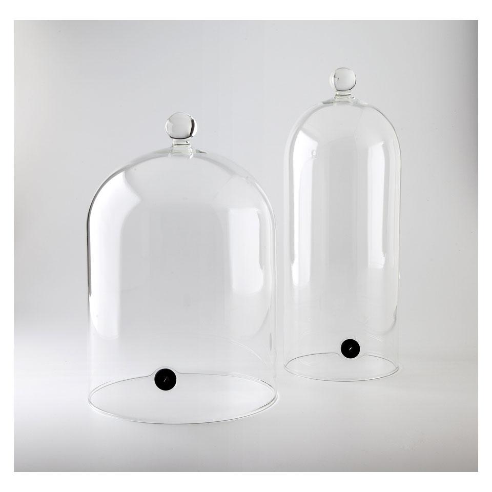 Campana cocktail con valvola 100% Chef in vetro