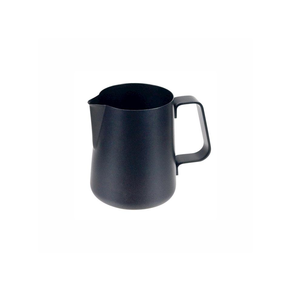 Lattiera Easy Ilsa in acciaio inox nero con rivestimento antiaderente